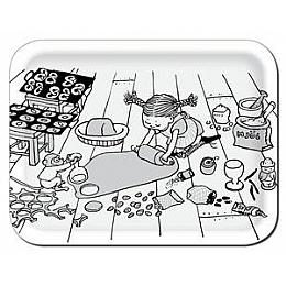 a tray - amazing design! from arytrays. pippi!