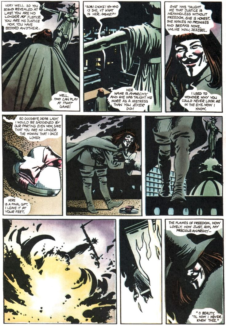 V pour Vendetta - David Lloyd