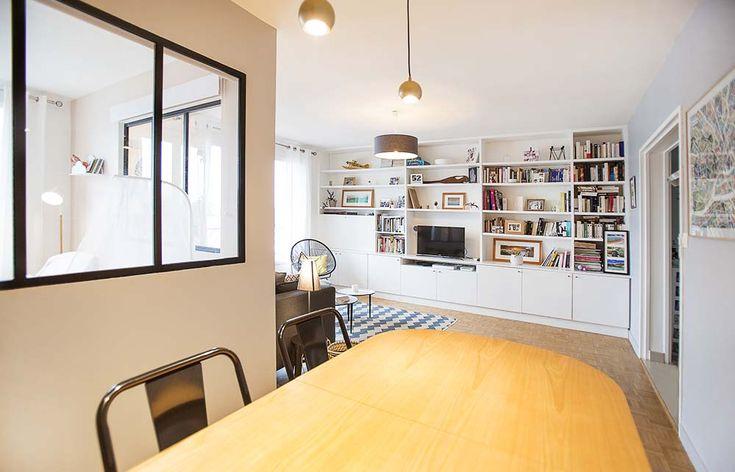 Création d'une chambre pour un futur bébé dans un appartement à Nantes (44) par @KiosqueDeco - Lydie Pineau - architecture et décoration d'intérieur