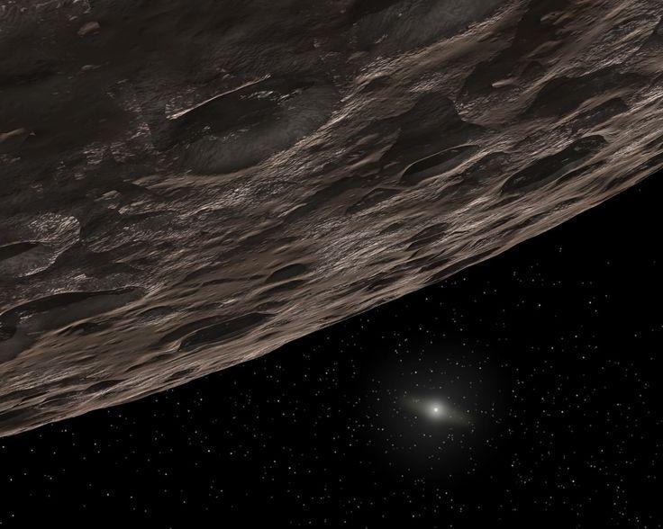 Illustration d'un objet de la ceinture de Kuiper, aux confins du Système solaire, entre 30 et 50 UA. © Nasa, JPL-Caltech, T. Pyle (SSC)