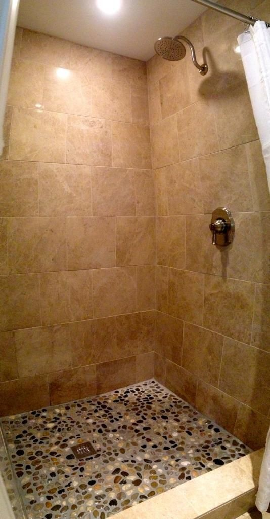 Shower Floor Tiles Which Why And How: Best 25+ Stone Shower Floor Ideas On Pinterest