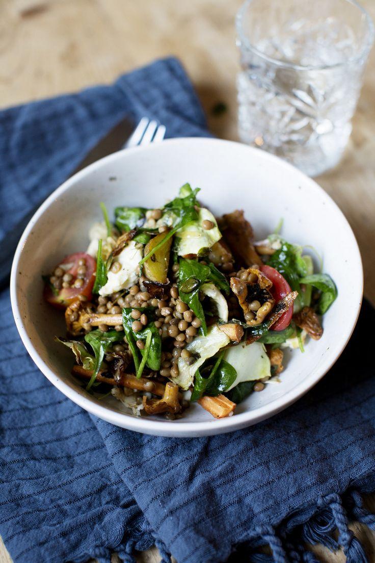 Här kommer ett vegetariskt recept på en underbart lyxig och god ljummen…