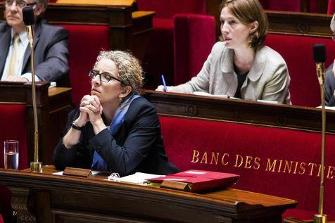 2.07.13 / Hollande met fin aux fonctions de Delphine Batho / Delphine Batho le 2 juillet à l'Assemblée.