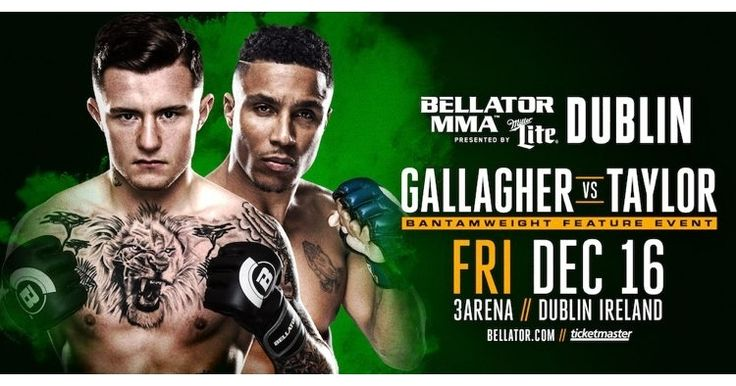 Some of the latest News from MMA Weekly Bellator Dublin Debut Features James Gallagher in Co-Main Event