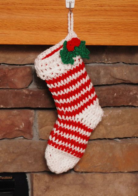 Free pattern for a Christmas stocking