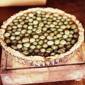 Gooseberry Tart | SAVEUR (use vegan butter)