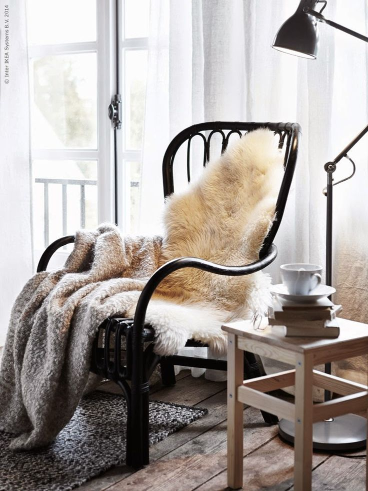 Cozy Ikea bedroom | Daily Dream Decor  Chair
