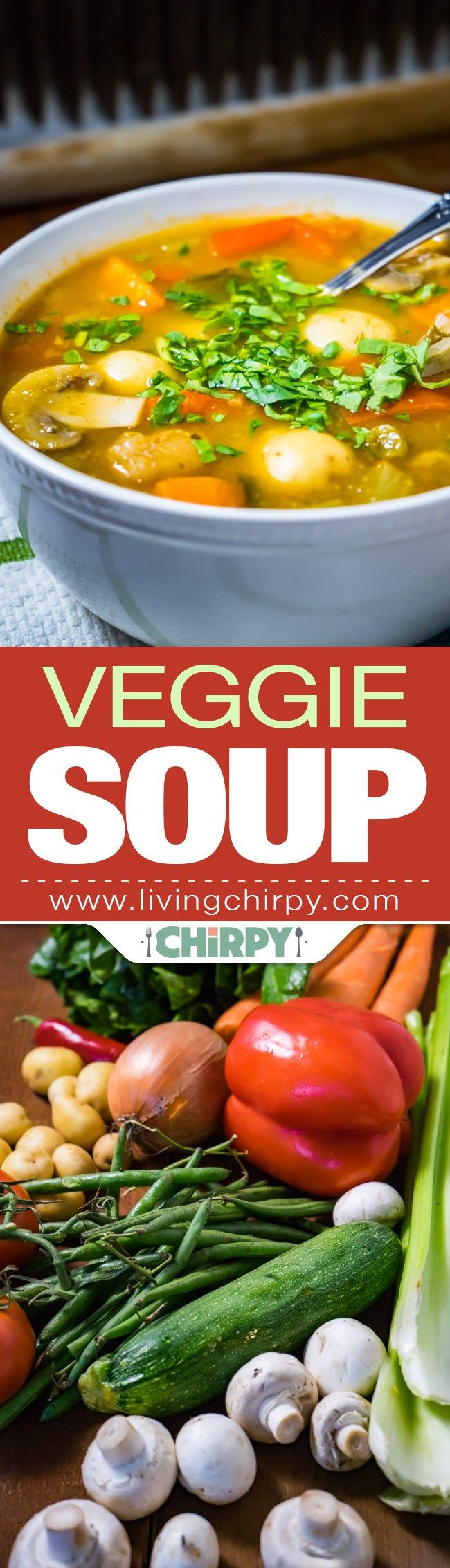 Veggie Soup - and easy and incredibly delicious Vegetable Soup to treat your family with.