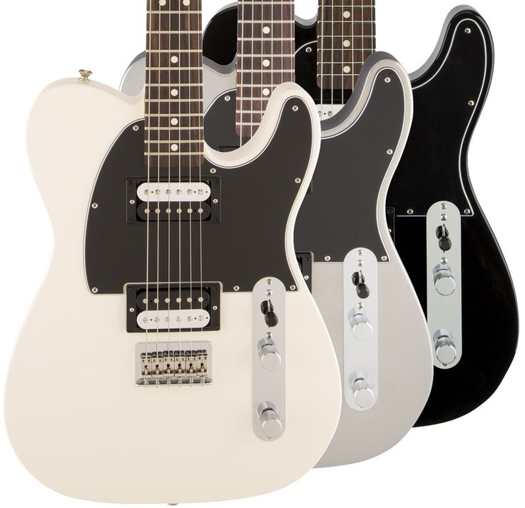 A Telecaster With Attitude For the guitarist who loves the timeless style and classic sound of the Telecaster, but doesn't get enough out of it, Fender has provided the Standard Telecaster HH. The usu