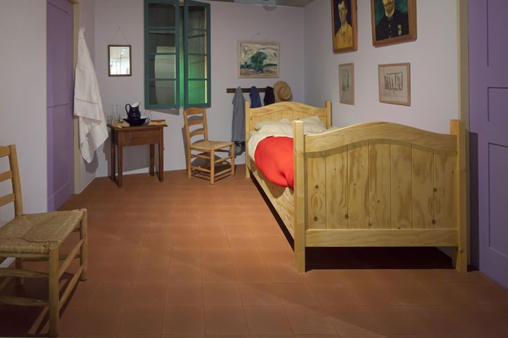 reconstruction of van gogh's bedroom in arles | art & drawings, Deco ideeën