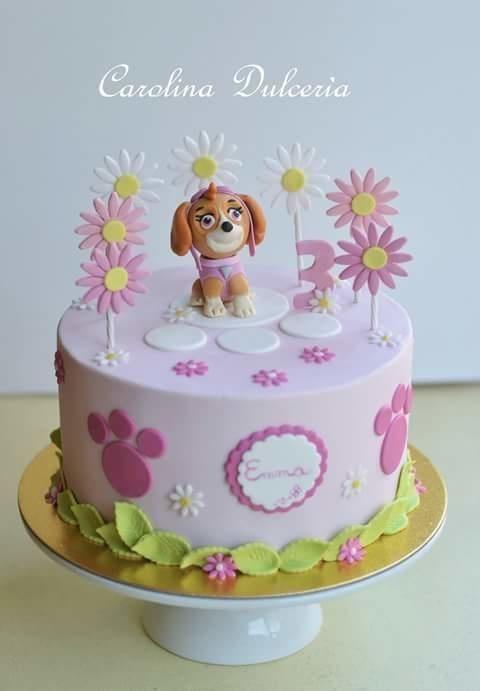 Paw Patrol Skye cake - Cake by carolina paz