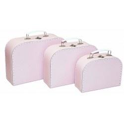Alimrose Kids Carry Case Set - Pale Pink