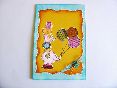 Baby--kid card