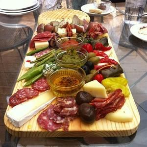 The biggest antipasto in Colorado.