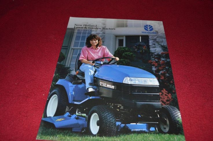 New Holland GT18 GT20 GT22 Lawn & Garden Tractor Dealers Brochure YABE6