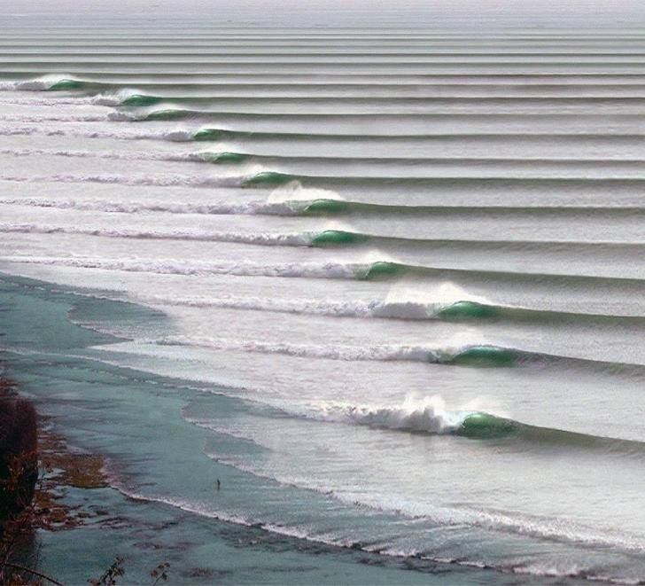 The longest, left-breaking wave in the world, Chicama, Peru