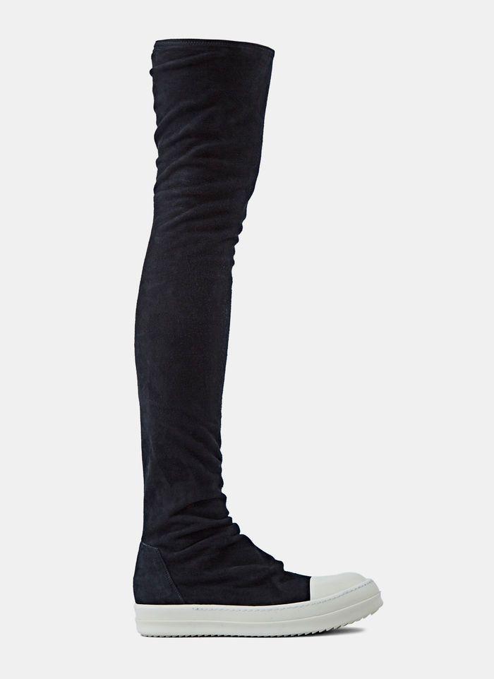 Thigh-High Sock Sneakers   Thigh high