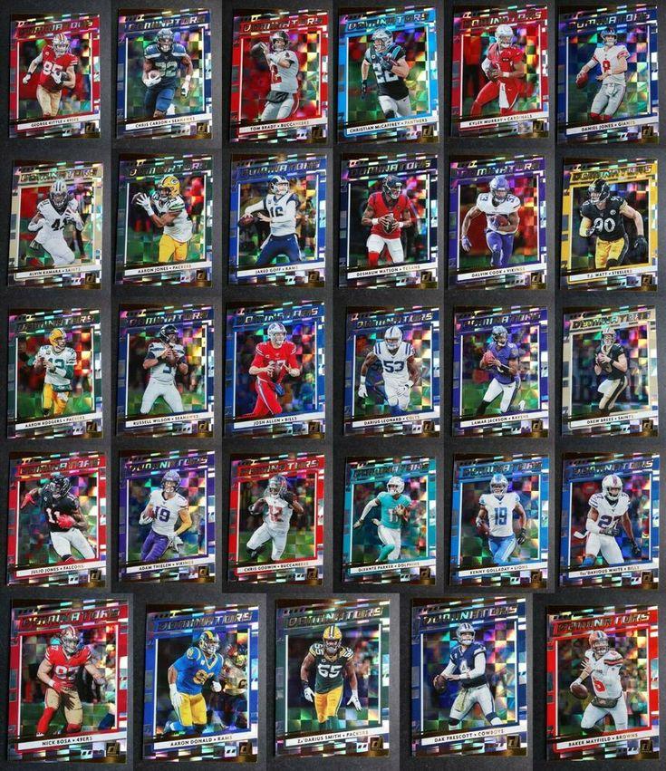 2020 donruss dominators football cards complete your set u
