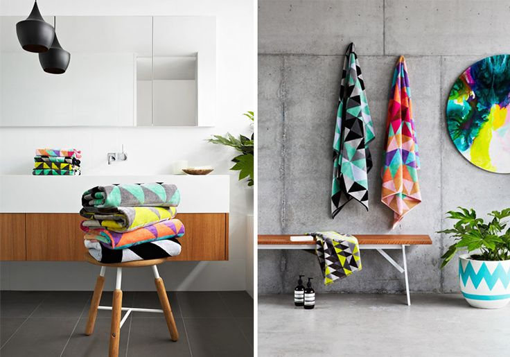 Ziporah Towels - Add a pop of colour to your bathroom
