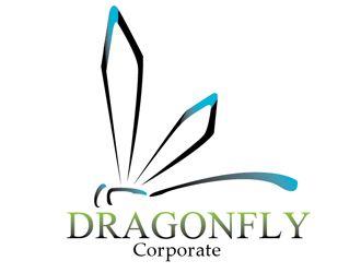 Dragonfly logo design - 48HoursLogo.com