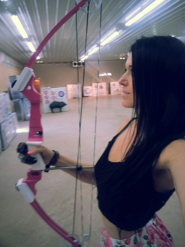 Pink archery