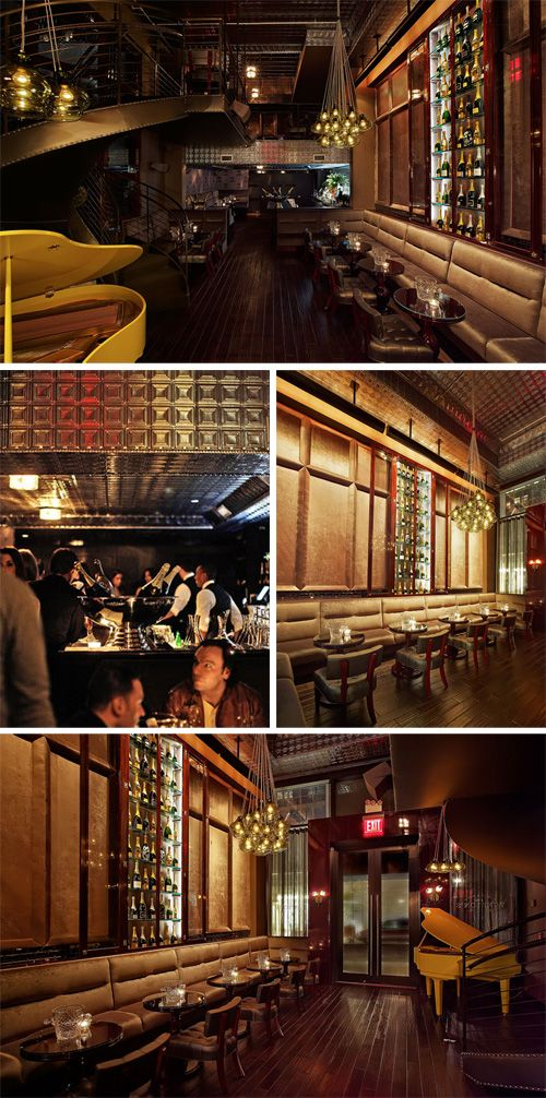 winston's champagne bar in nyc...if only