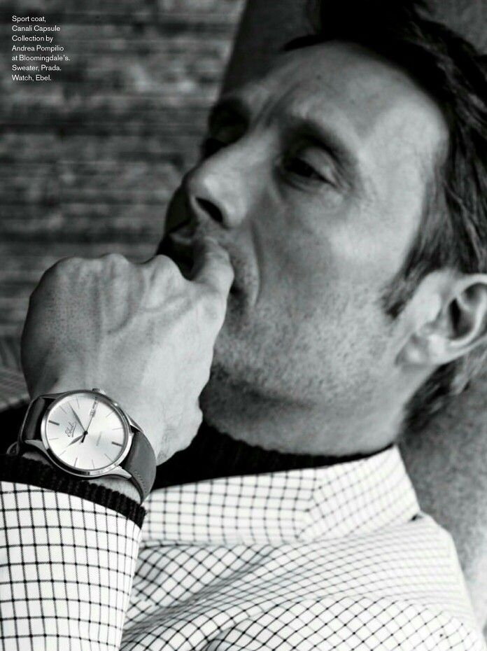 Mads Mikkelsen. Maxim magazine April 2015.