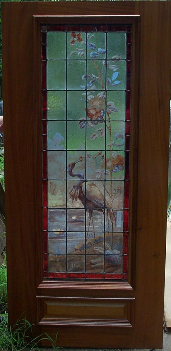 16 best doors images on pinterest entrance doors front for Wooden back doors with glass