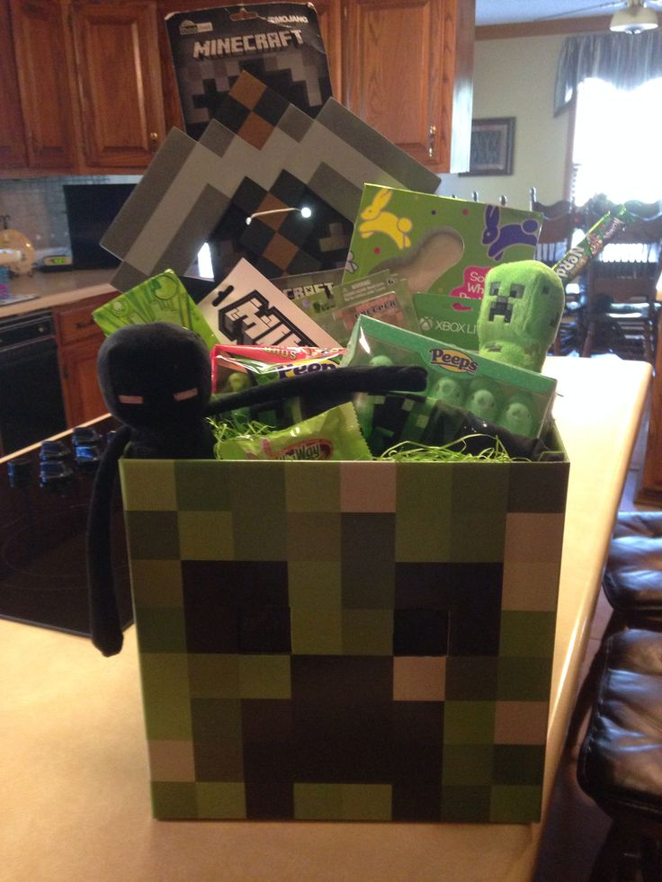 Minecraft Easter Basket   Minecraft Easter Basket ...