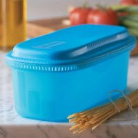 TupperWare  Pasta Maker...earned mine free my first month as a Tupperware consultant...can't wait until it arrives this week.  Easy cooking less cleaning!!!