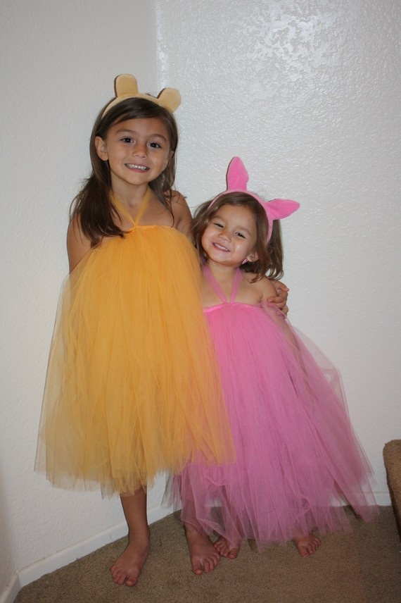 tutus for a Winie the Pooh party!