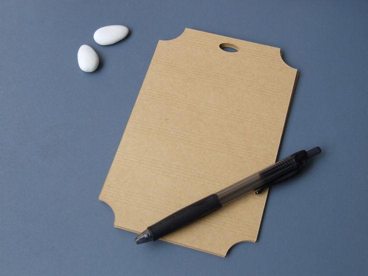 """Etiquette vierge 10x17cm pour plan de table de mariage, forme """"ticket de billetterie"""" : Autres papeterie par etiquettes-et-jolis-mots"""