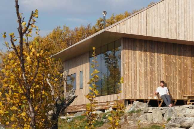 Chata na náhornej plošine, ktorú si architekt navrhol sám pre seba | Drevostavby | Stavebníctvo | www.asb.sk