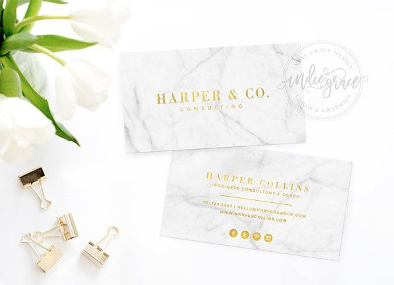 Real Gold Foil Business Card Template  Moo Gold Foil by IndieGrace