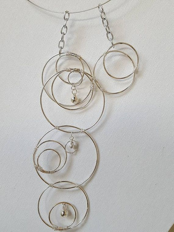 Going Around in Circles  Statement by NaturallYoursJewelry on Etsy