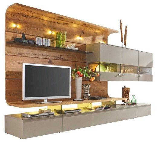 Bei Dieser Wohnwand Von MODERANO Gehen Ästhetik Und Eine Hochwertige  Verarbeitung Zusammen. Dabei Bestechen Ihre Neuen Wohnzimmermöbel Durch Die  3 ...