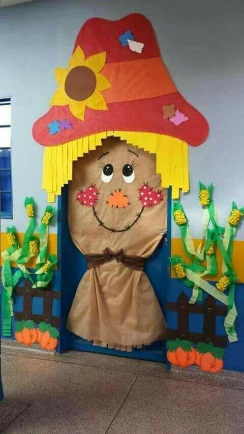 Las 25 mejores ideas sobre puerta preescolar en pinterest for Puertas escolares decoradas