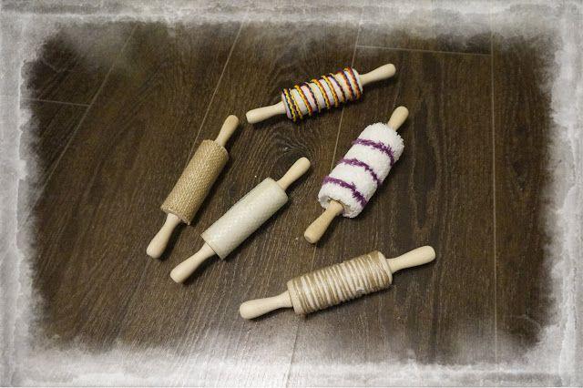 kreatywnyMaks: Wałki sensoryczne lub plastyczne :)