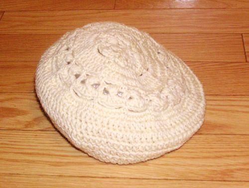 かぎ針編みのベレー帽の作り方