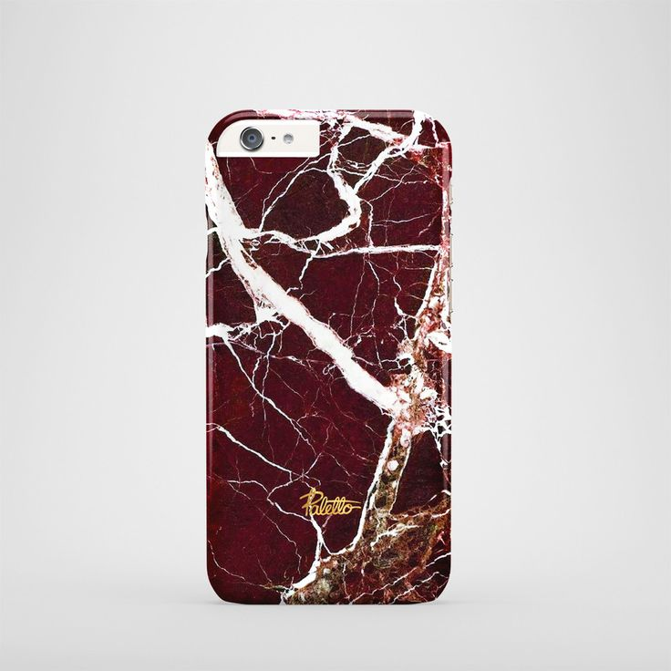 """""""Vampirella""""  / feature with Mysterious red marble stone printed iPhone cover. #red #marble #case #paletto"""