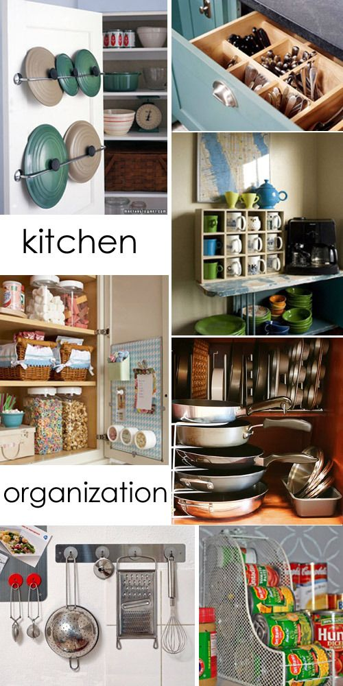 We all need help organizing our kitchens!