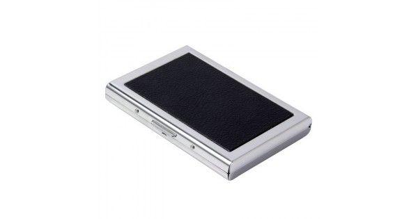Πορτοφόλι Αλουμινίου Για Πιστωτικές Κάρτες Με Προστασία RFIDΤο πορτοφόλι είναι κατασκευασμένο από ελαφρύ αλουμίνιο και εξαιρετικά ανθεκτικόΑδιάβροχο για να προστατεύει τα λεφτά,ταυτότητα& και τις κάρτες σας.Διαθέτει σχεδιασμό ακορντεόν 6 θέσεων.Εύκολο κούμπωμα για άνοιγμα - κλείσιμοΚομψό α