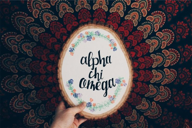 Big little sorority craft alpha chi omega Photo by mattie97 | VSCO | http://vsco.co/vsco