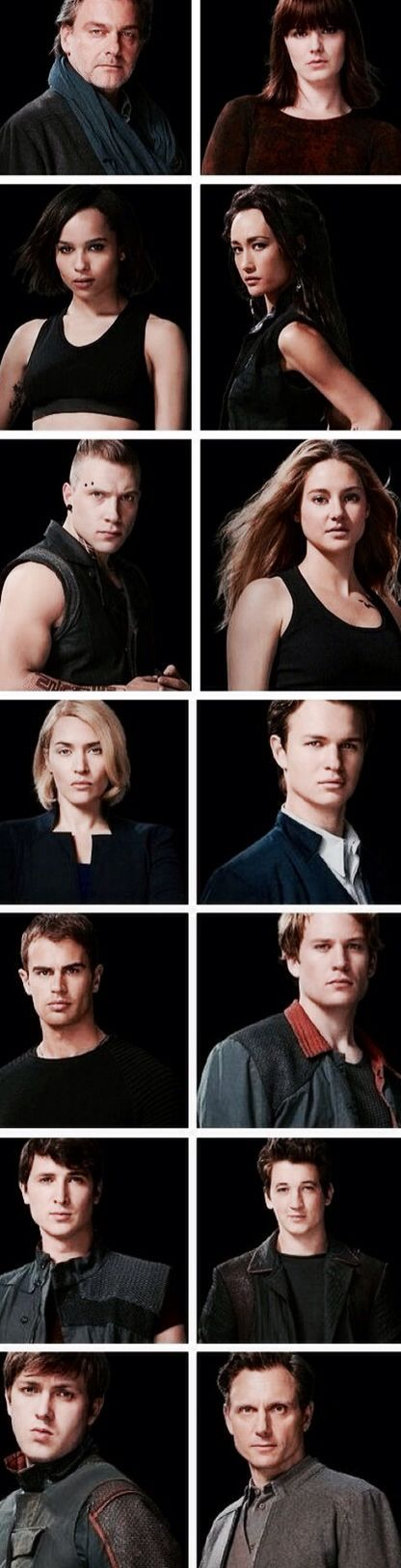 All of the Divergent movie cast pics  ~Divergent~ ~Insurgent~ ~Allegiant~
