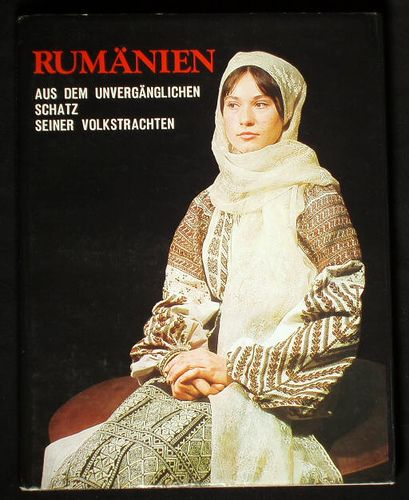 Traditional Romanian Folk Costume from Muscel area