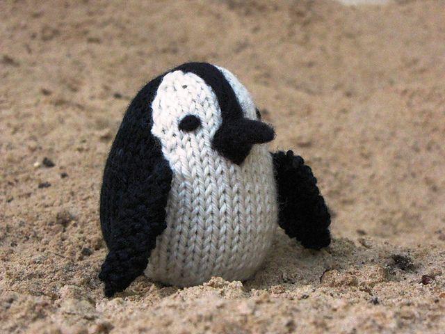Penguin Knitting Pattern by Linda Dawkins