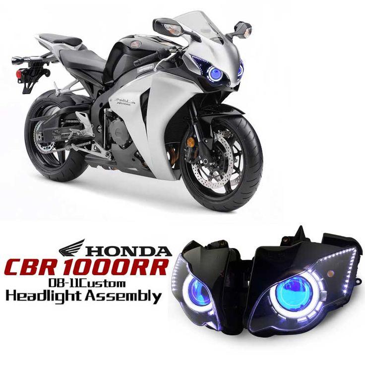 Honda CBR1000RR 2008-2011 Angel Eye HID Projector Custom Headlight Assembly http://www.ktmotorcycle.com/custom-headlights/honda-custom-headlights/honda-cbr1000rr/honda-1000rr-2008-2011.html