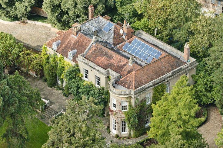 La demeure anglaise de George Clooney Les maisons de stars dans lesquelles on aimerait habiter