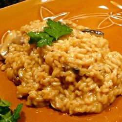Mushroom Risotto | Just a little extra time at the stove stirring this dish makes it so, so tasty.