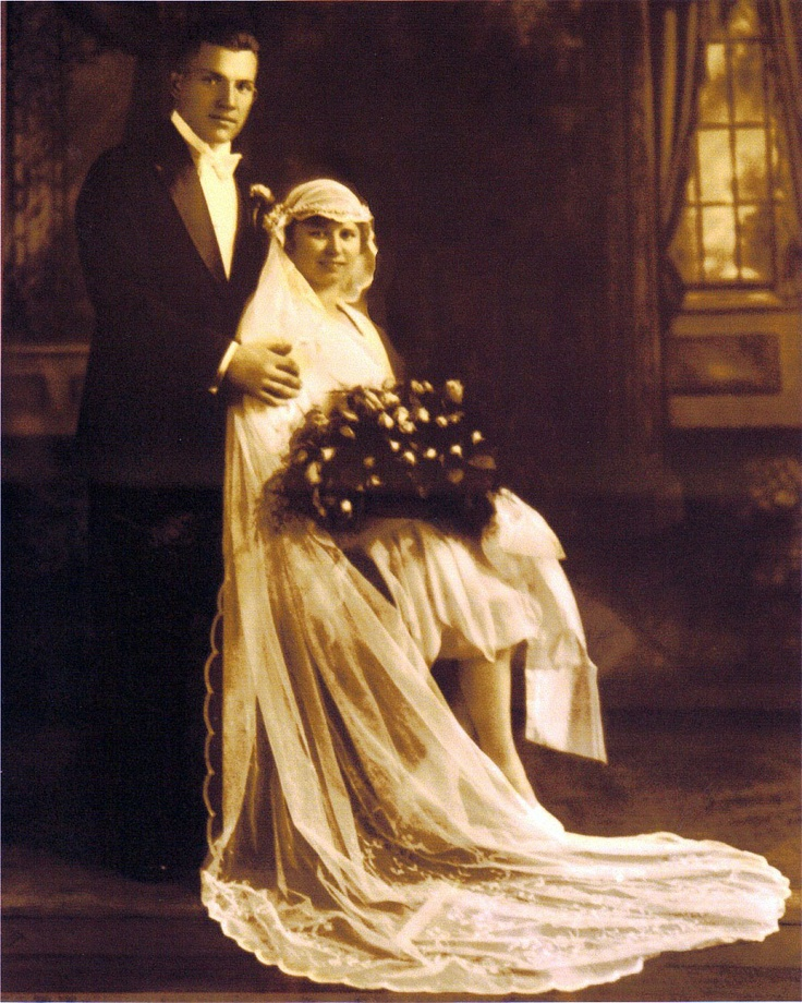 21 Men S Clothing On The First Day Of Spring Vintagetopia: My Grandparents Schneider On Their Wedding Day